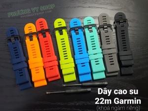 Dây cao su F1 Fenix 6 (22mm, khóa ngàm riêng cho Garmin)